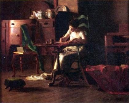 escribir-54bzx-mujer-escribiendo-en-una-mesa-por-thomas-pollock-anschutz-tomado-del-blog-american-gallery1